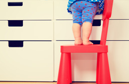 Sua casa é segura para os pequenos?